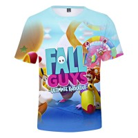 T-shirt Fall Guys Ultimate Knockout