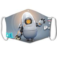 Masque Fall Guys : Portal 2