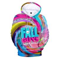 Sweat Fall Guys Logo fond coloré